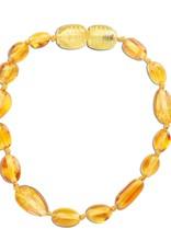ATBP-LEMON Amber Teething Bracelet - Lemon Polished (ATBP- Lemon)