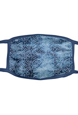KARMA KA-2066-01 ADULT FACE MASK INDIGO MEDALLION