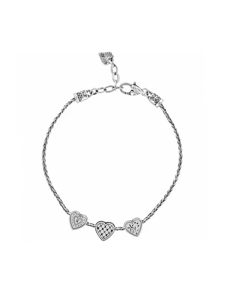 BRIGHTON J90160 ENCHANTED HEARTS ANKLET