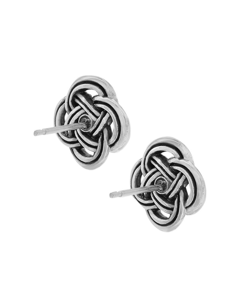 BRIGHTON JA3600 INTERLOK POST EARRINGS