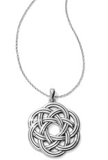 BRIGHTON JM0900 Interlok Eternity Circle Necklace