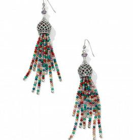 BRIGHTON JA3013 Sahuri Beaded Tassel French Wire Earrings