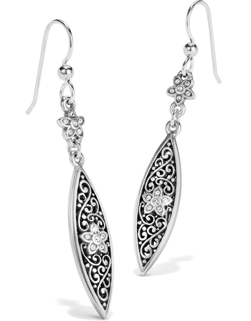 BRIGHTON JA6631 Baroness Fiori Marquise French Wire Earrings