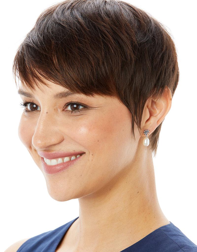 BRIGHTON JA6813 Rajasthan Jasmin Post Drop Earrings