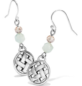 BRIGHTON JA6953 Barbados Beach French Wire Earrings