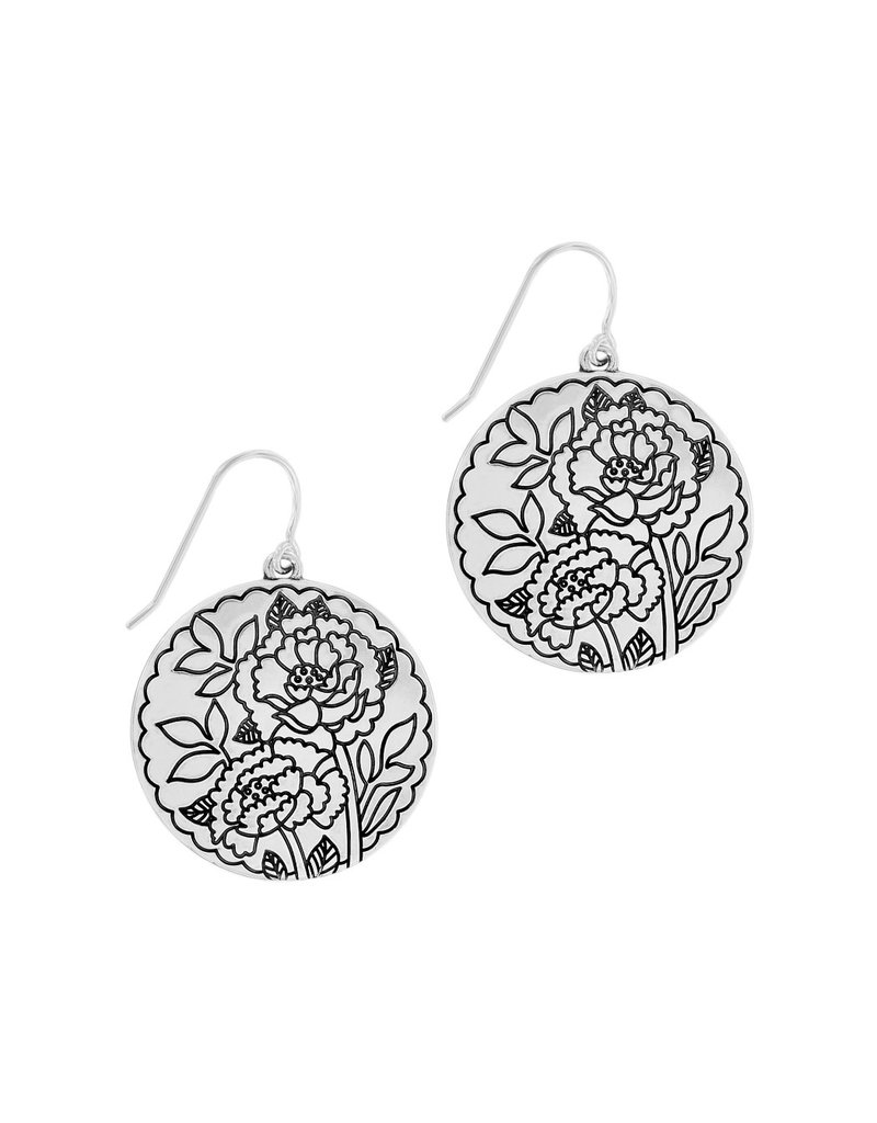 BRIGHTON JA7013 Journey To India Indigo French Wire Earrings
