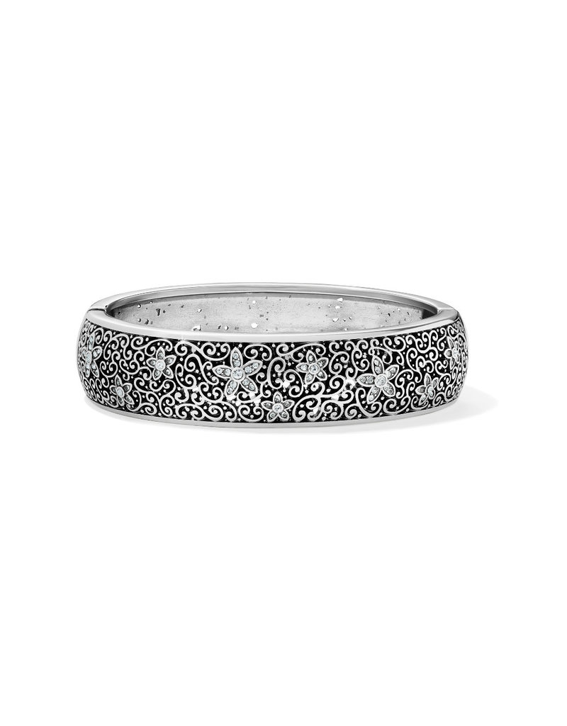 BRIGHTON JF7731 BARONESS FIORI HINGED BANGLE