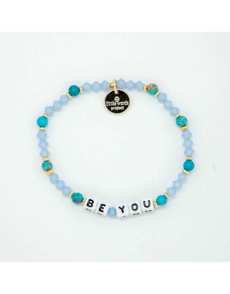 LITTLE WORDS PROJECT Be You Sea Breeze