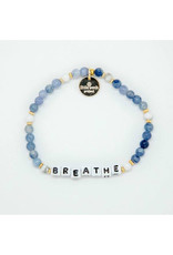 LITTLE WORDS PROJECT Breathe Blue Stone
