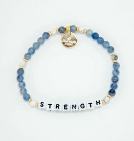 LITTLE WORDS PROJECT Strength Blue Stone