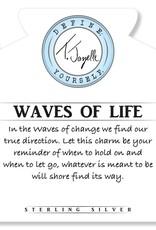 T JAZELLE KYANITE-WAVES OF LIFE