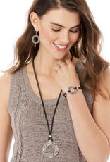 BRIGHTON JF7770 Interlok Weave Cord Bracelet