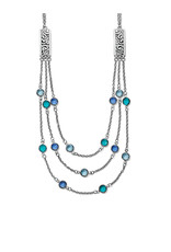 BRIGHTON JL9754 Elora Gems Multi Layer Necklace