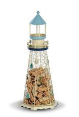 Lighthouse Coastal/Beach Decor Cork Cage Holds over 80 Cork