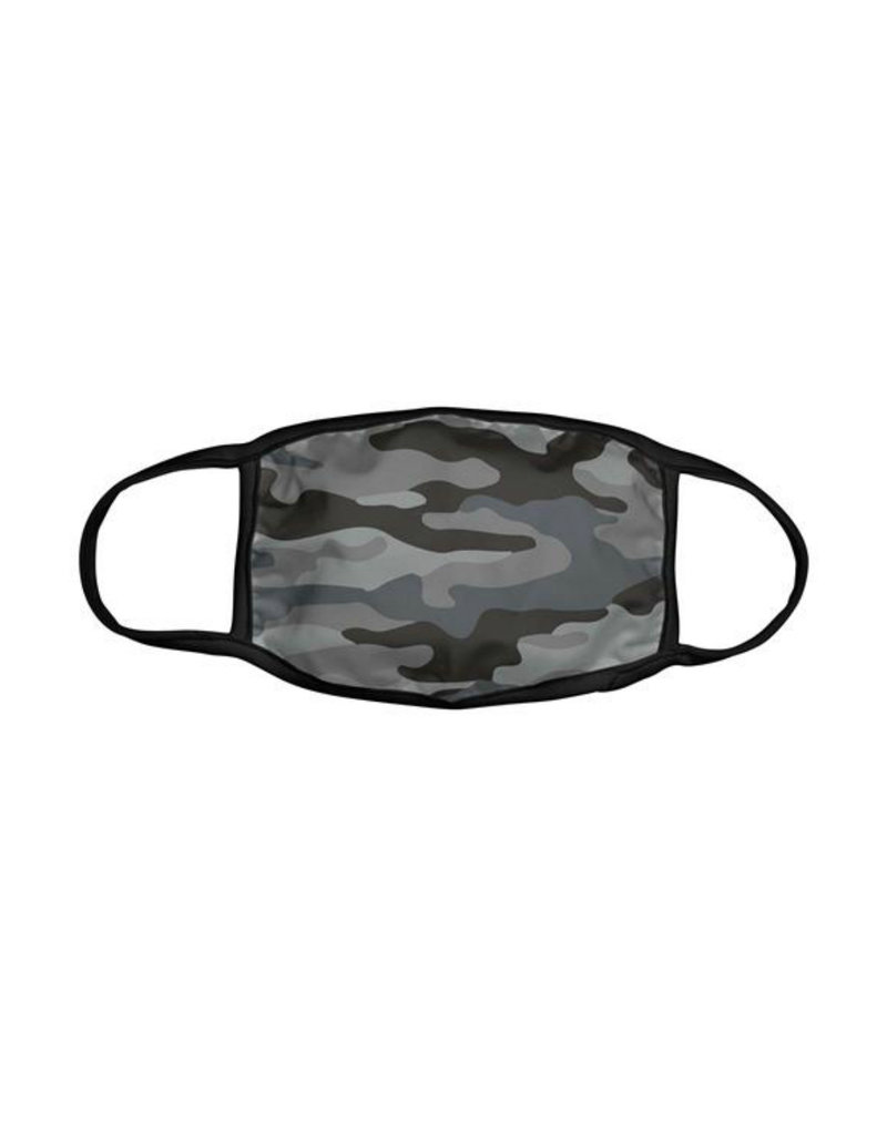 KARMA KA-2066-07 ADULT FACE MASK GRAY CAMO