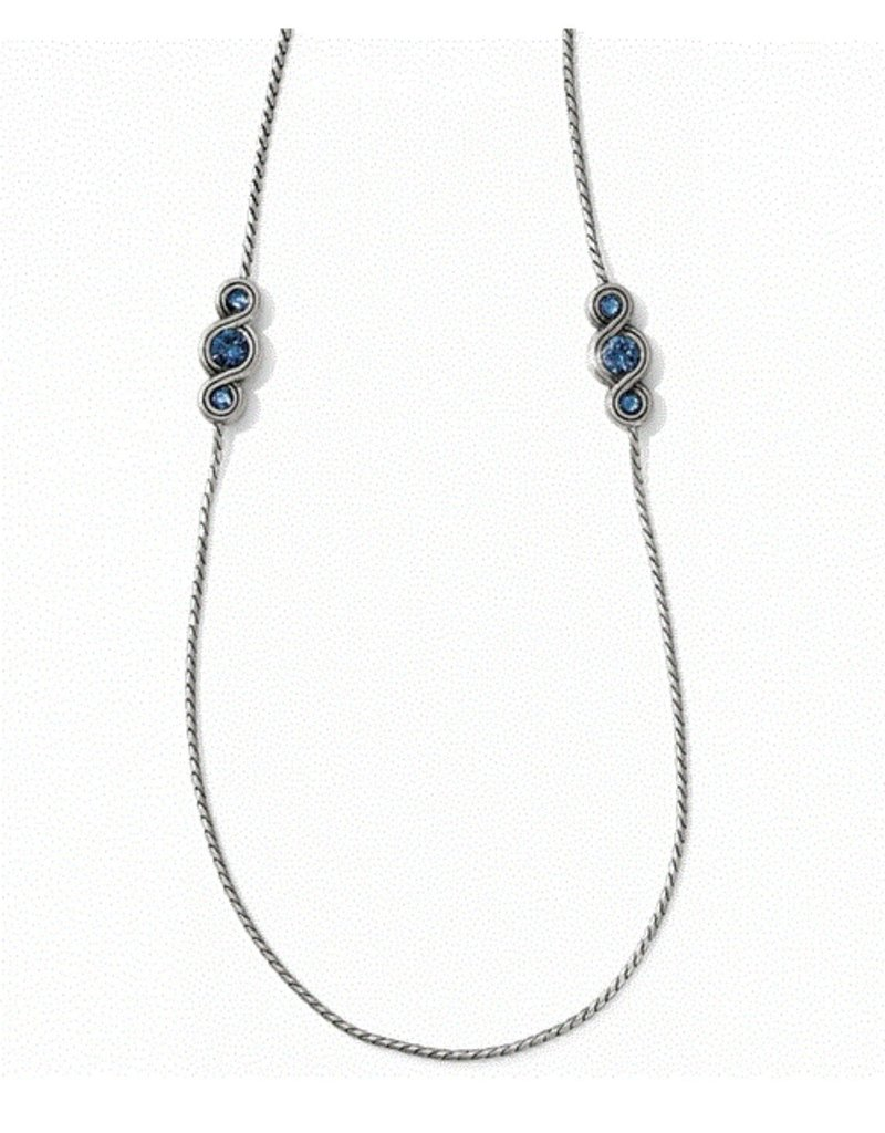 BRIGHTON JL5353 BLUE INFINITY SPARKLE L NECKLACE