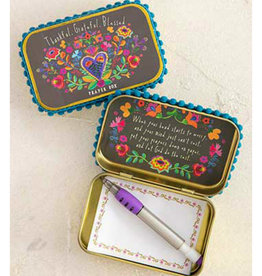 NATURAL LIFE PBX088 Thankful Grateful Prayer Box