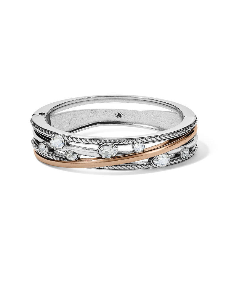 BRIGHTON JF7623 Neptune's Rings Gems Hinged Bangle