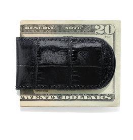 BRIGHTON M1013 Croco Money Clip