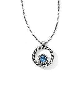 BRIGHTON JL4622 Halo Mini Reversible Necklace