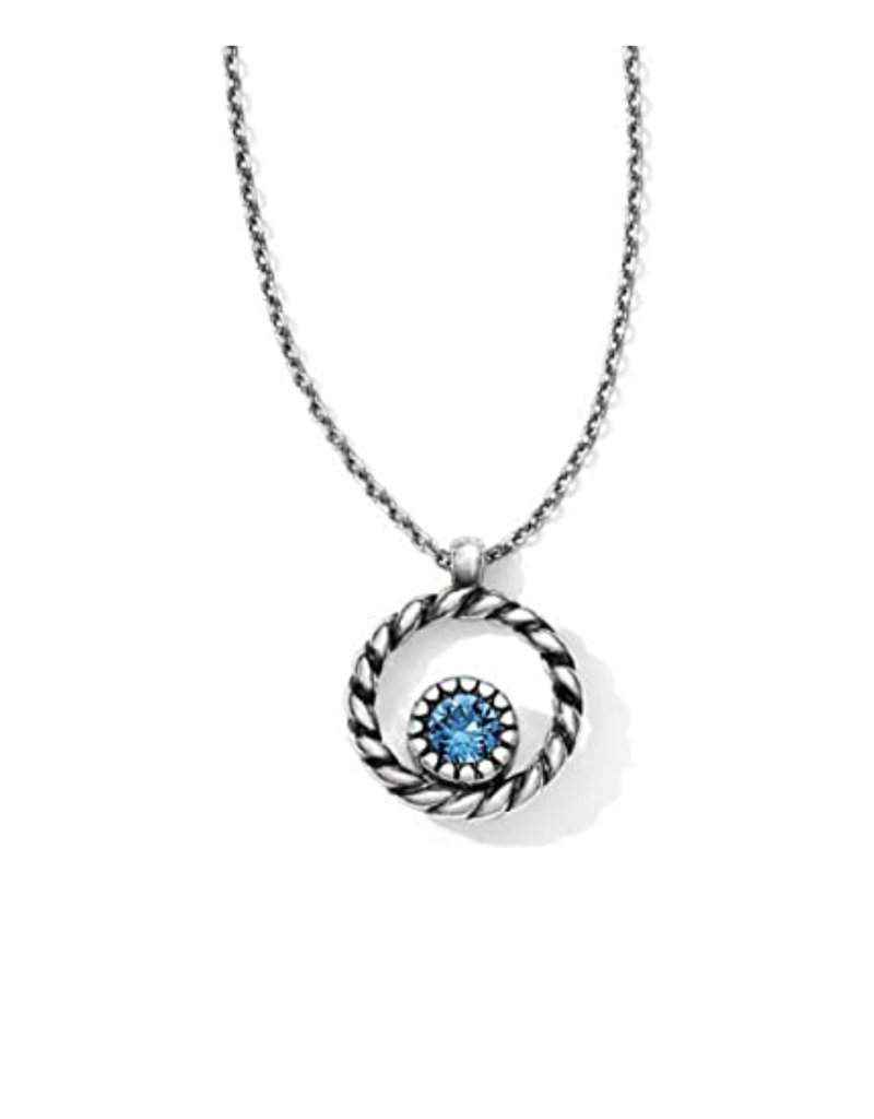 BRIGHTON JL4622 Halo Mini Reversible Necklace