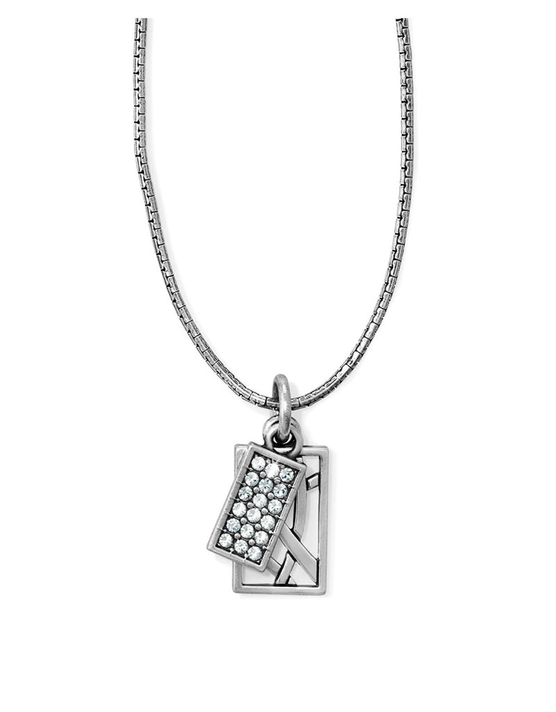 BRIGHTON JL6611 Meridian Zenith Charm Necklace Crystal