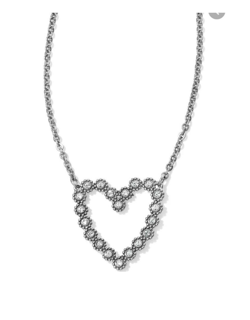 BRIGHTON JL7591 TWINKLE FLOATING HEART NECKLACE
