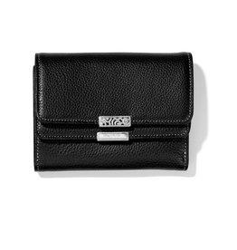 BRIGHTON T22433 Barbados Double Flap Medium Wallet