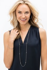 BRIGHTON JL6181 MERIDIAN ORBIT LONG NECKLACE