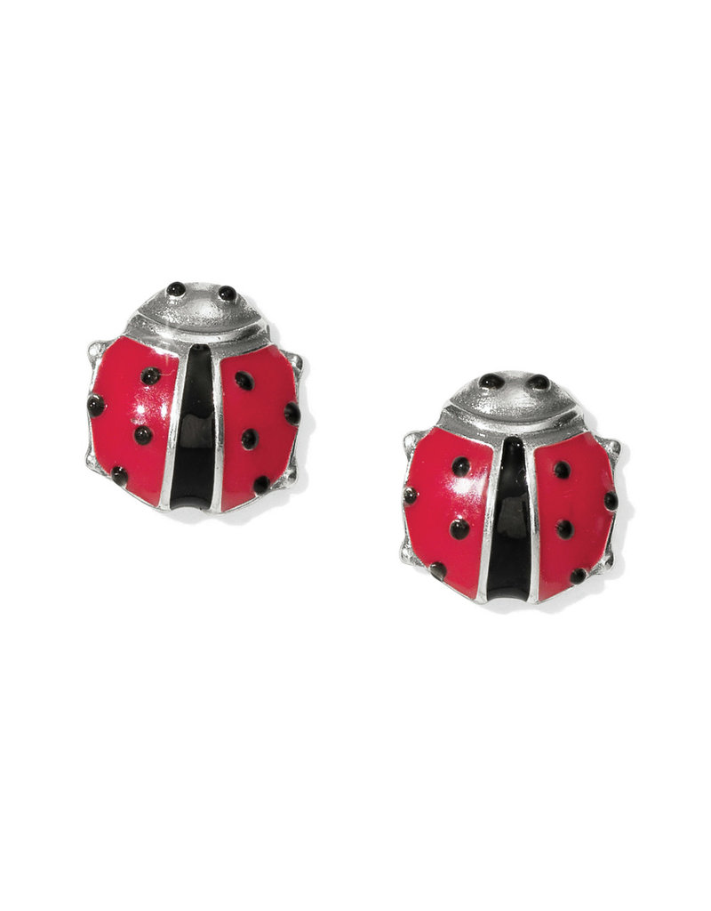 BRIGHTON J22113 SPRING LADYBUG MINI POST EARRINGS