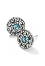 BRIGHTON JA3592 ILLUMINA PETITE POST EARRINGS