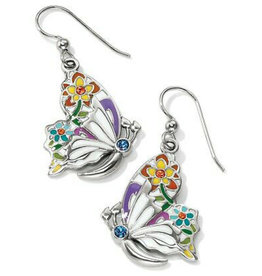 BRIGHTON JA3683 BELLE JARDIN FRENCH WIRE EARRINGS