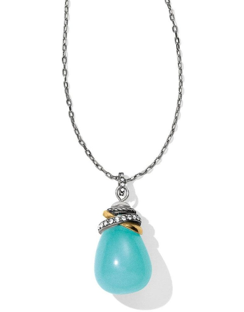 BRIGHTON JL796A NEPTUNE'S RINGS QUARTZ NECKLACE