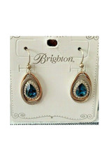 BRIGHTON JA2873 NEPTUNE'S RINGS TEARDROP FRENCH EARRINGS