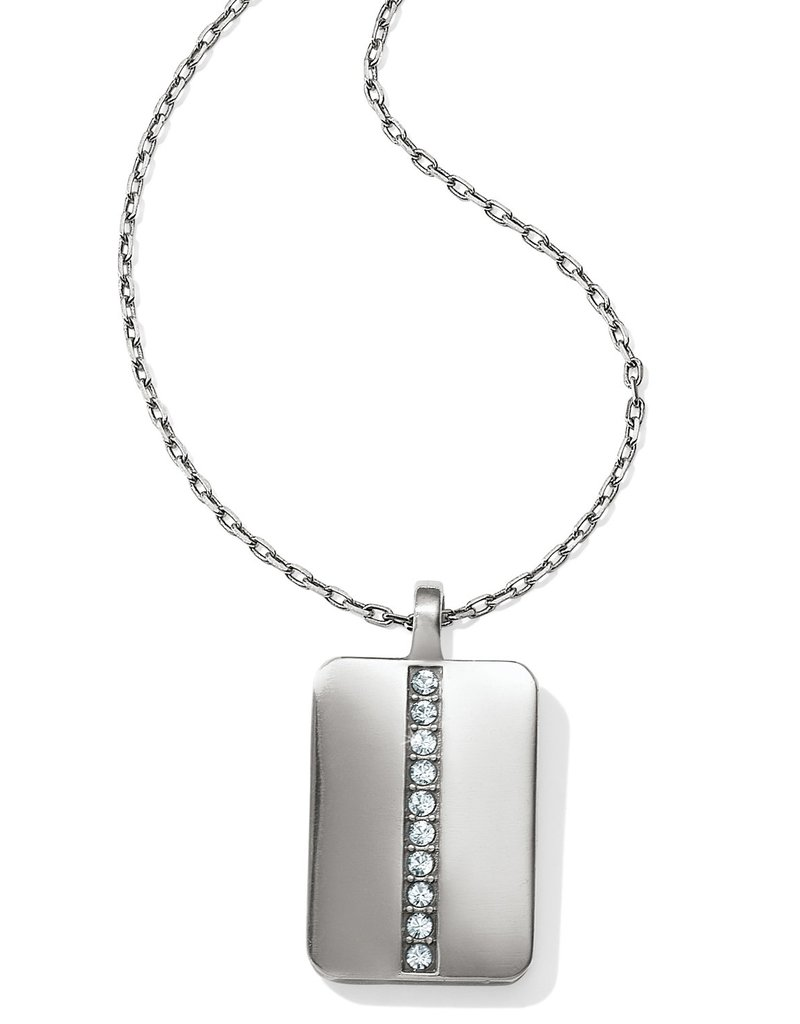 BRIGHTON JL8941 Contempo Ice Reversible Tile Necklace