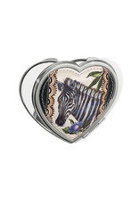 BRIGHTON E5266M Africa Stories Heart Compact Mirror