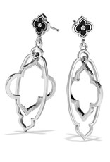 BRIGHTON JA4800 TOLEDO ALTO NOIR POST DOUBLE EARRINGS
