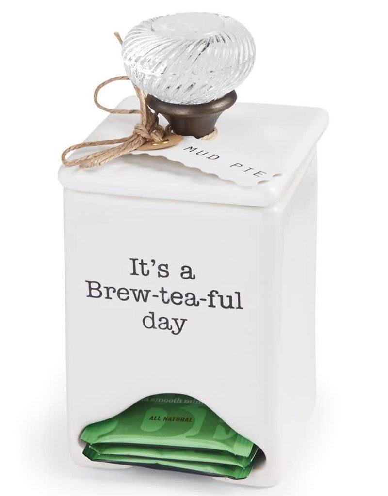 MUD PIE 4771009 TEA BAG CADDY