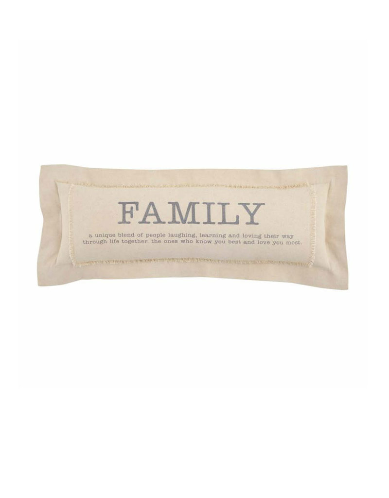 MUD PIE 41600313 FAMILY DEFINITION PILLOW