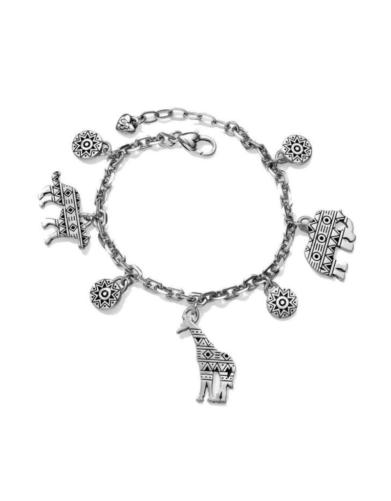BRIGHTON JF5730 AFRICA STORIES ANIMAL CHARM BRACELET