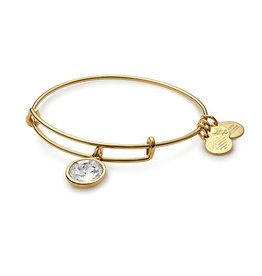 ALEX AND ANI A09EB243G APRIL BIRTHSTONE GOLD