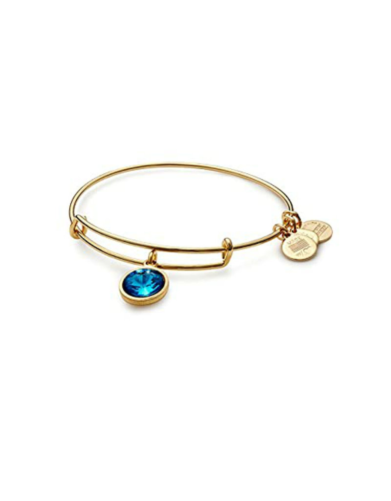 ALEX AND ANI A09EB251G December Birthstone Yellow-Gold Expandable