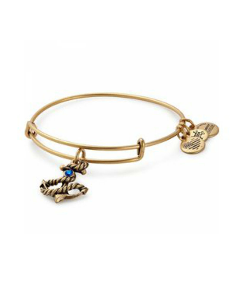 ALEX AND ANI A17EB72RG ANCHOR III GOLD