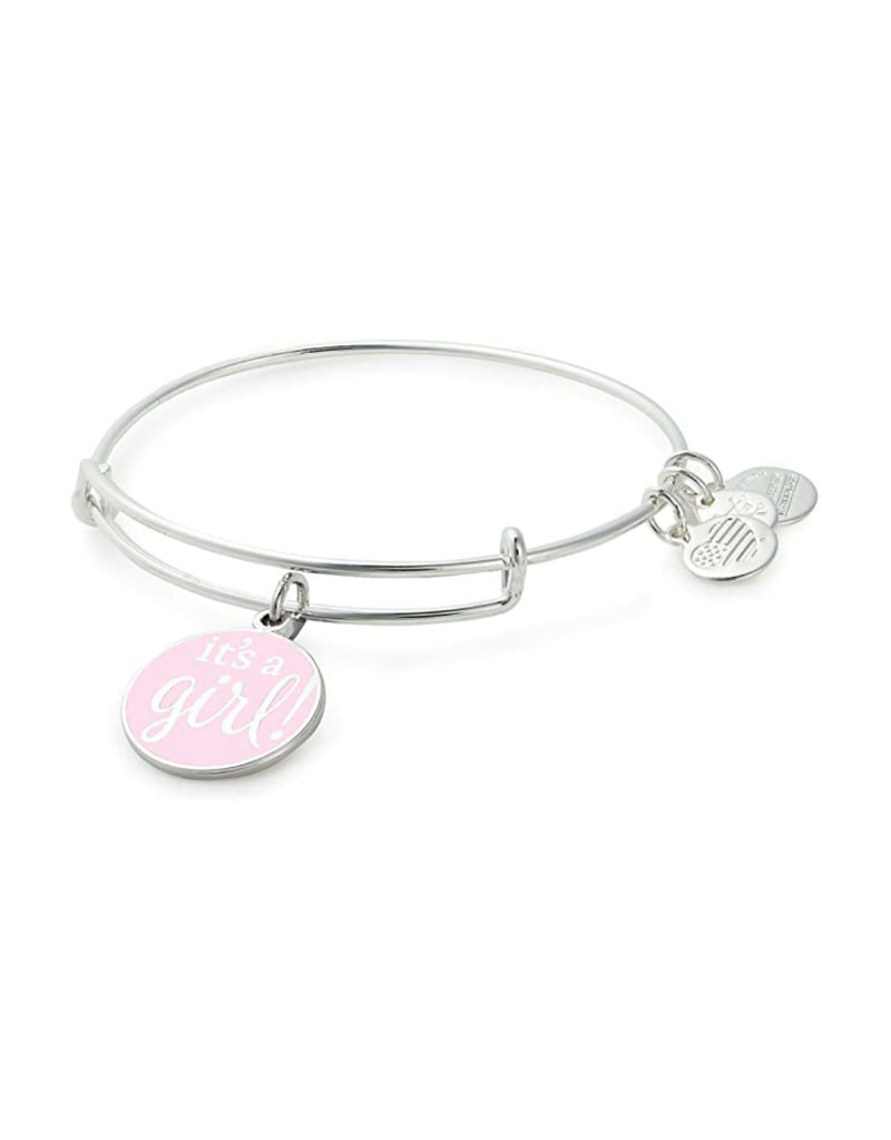 ALEX AND ANI A19EBIAGSS Color Infusion, It's A Girl EWB, SS