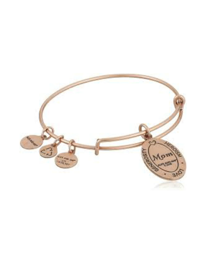 ALEX AND ANI A16EB10ROG Because I Love You Mom II Bracelet