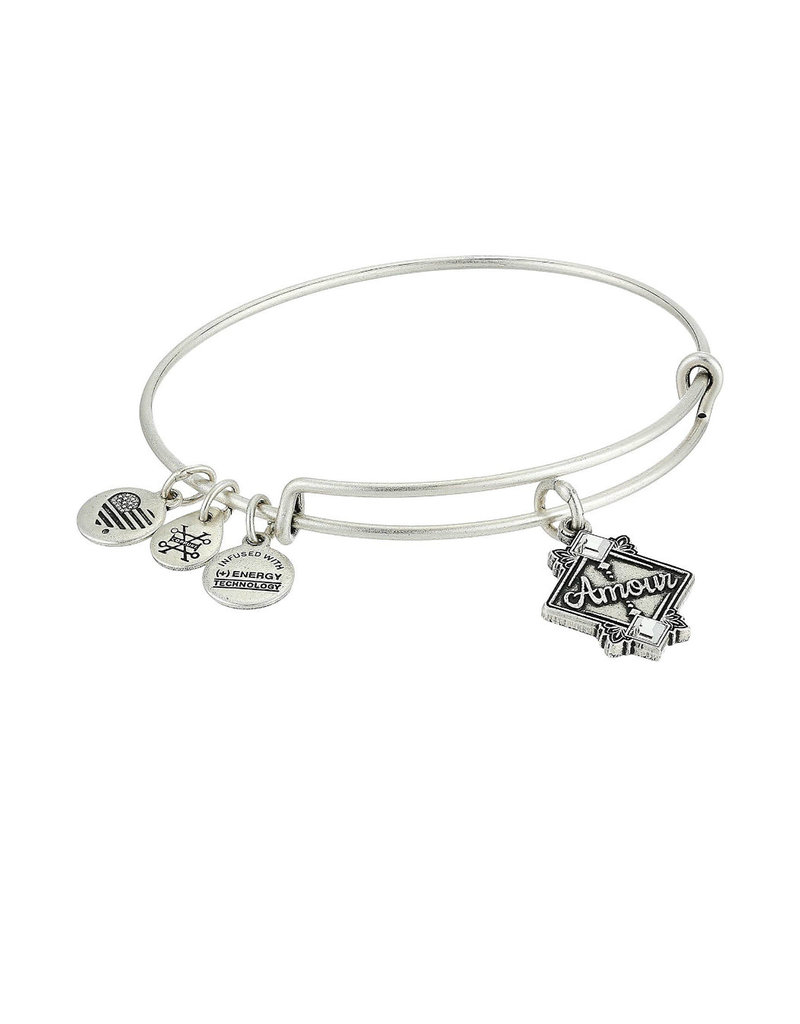 ALEX AND ANI A18EBAMRS AMOUR EWB, RS SIL