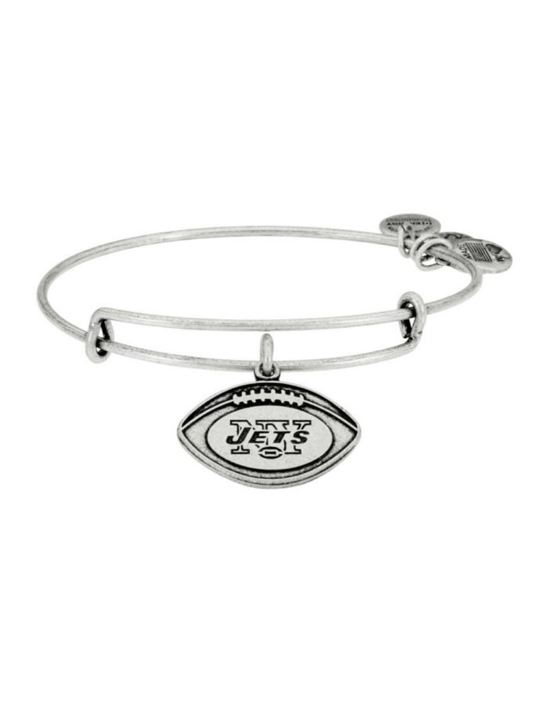 ALEX AND ANI AS13NYJ02RS NY JETS FOOTBALL NFL SILVER