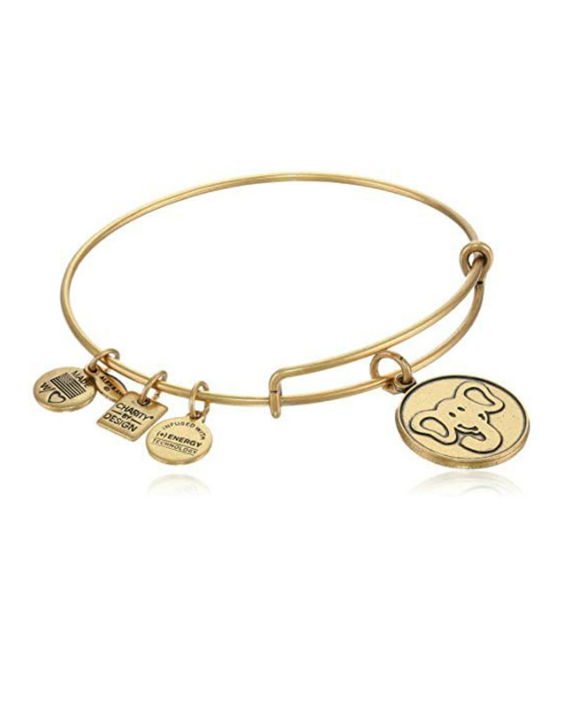 ALEX AND ANI CBD12ELRG ELEPHANT CHAR RGLD