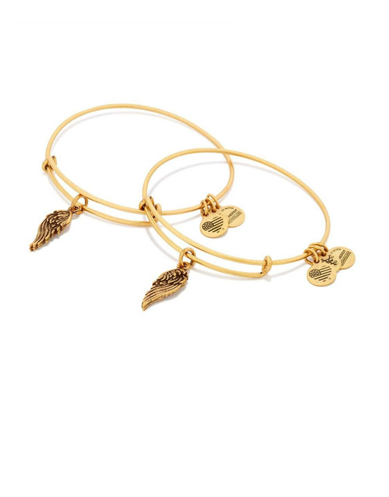 ALEX AND ANI A16EB64RG WINGS SET OF 2 GOLD