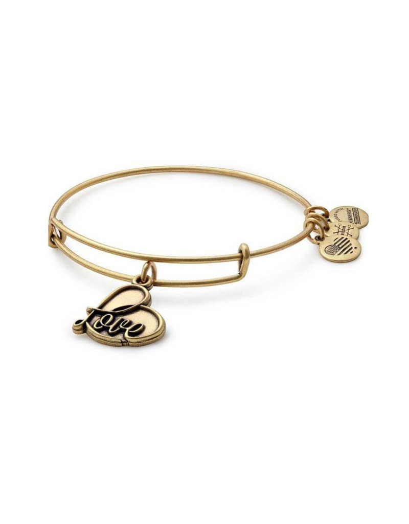 ALEX AND ANI A17EB05RG  LOVE IV GOLD